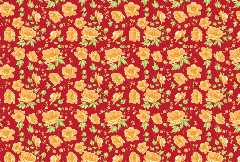 Photobooth backdrop Yellow roses wallpaper