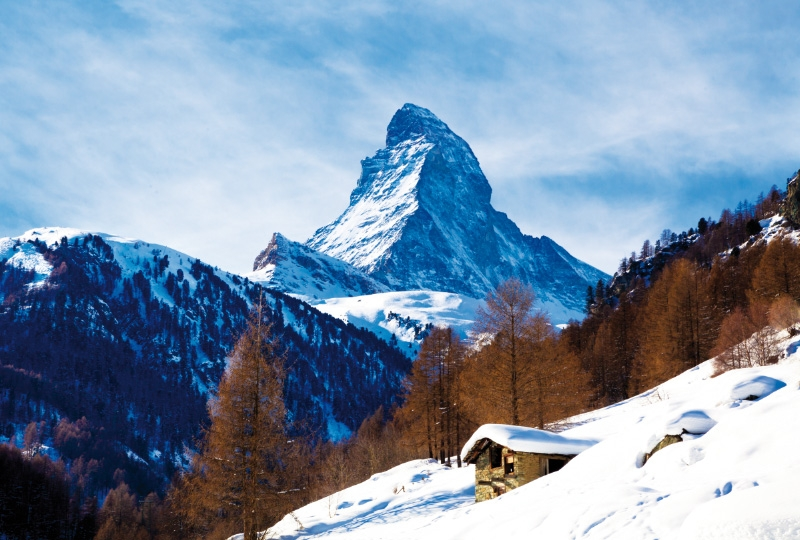 Photobooth backdrop Matterhorn