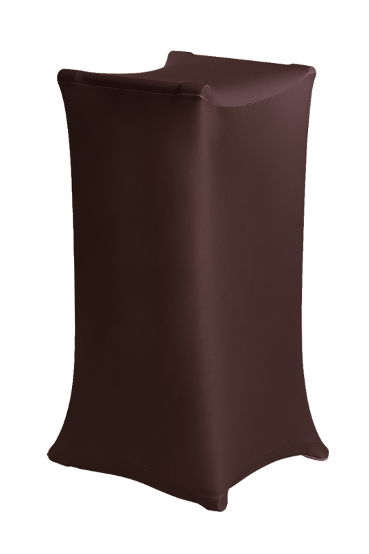 X-Stand stretch cover chocolate