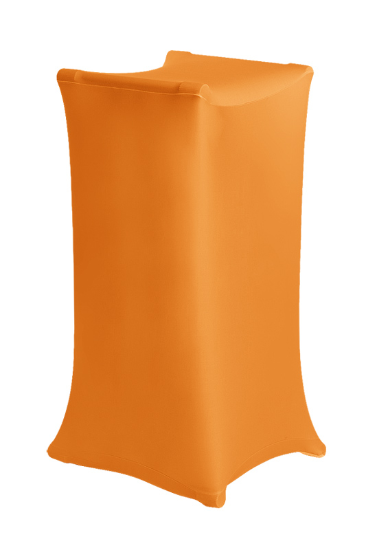 X-Stand stretch cover vividorange
