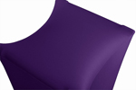 X-Stand stretch cover purple